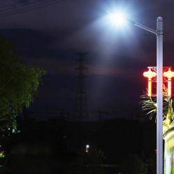 LAMPA SOLARA STRADALA 60W 160 LED CU TELECOMANDA