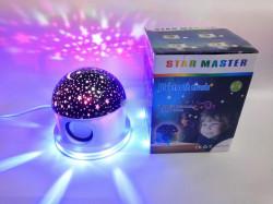 GLOB STELAR CU BOXA BLUETOOTH SI LED