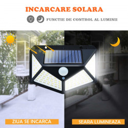 SET- 6 LAMPI SOLARE 100 LED-URI