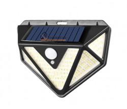 SET - 4 LAMPI SOLARE PREMIUM 166 LED
