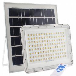 PROIECTOR SOLAR 100W 104 LED IP67 + TELECOMANDA