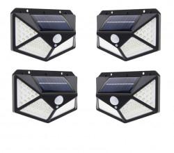 SET - 4 LAMPI SOLARE 100 LED-URI
