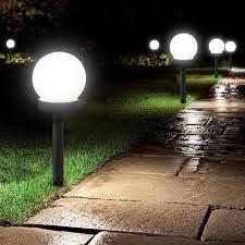 PACHET 4 LAMPI SOLARE PENTRU GRADINA TIP GLOB