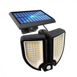 PROIECTOR SOLAR 90 LED - SENZOR MISCARE - TELECOMANDA