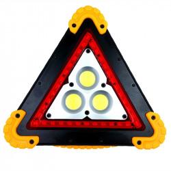 TRIUNGHI SOS CU 3 LED COB