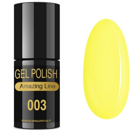 VERNIZ GEL AMAZING LINE 5ml 003 BANANA EXÓTICA