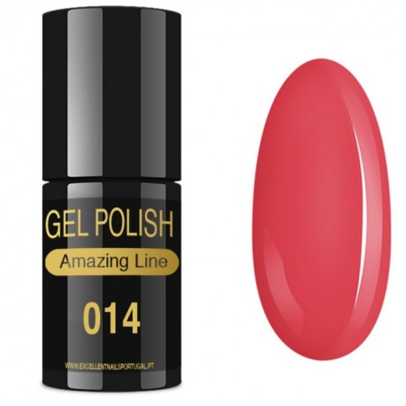 VERNIZ GEL AMAZING LINE 5ml 014 DOCE LICHIA