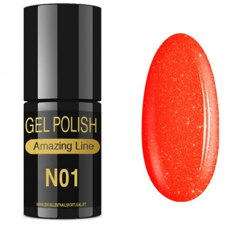 VERNIZ GEL AMAZING LINE 5ml N01 ALOHA