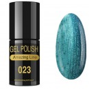 VERNIZ GEL AMAZING LINE 5ml 023 TURQUESA