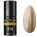VERNIZ GEL AMAZING LINE 5ml 019 CHAMPAGNE