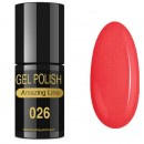VERNIZ GEL AMAZING LINE 5ml 026 FRAMBOESA