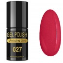 VERNIZ GEL AMAZING LINE 5ml 027 PEÓNIA