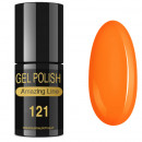 VERNIZ GEL AMAZING LINE 5ml 121 PÔR DO SOL