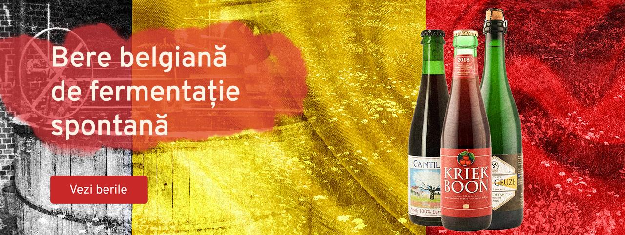 Bere belgiana de fermentatie spontana