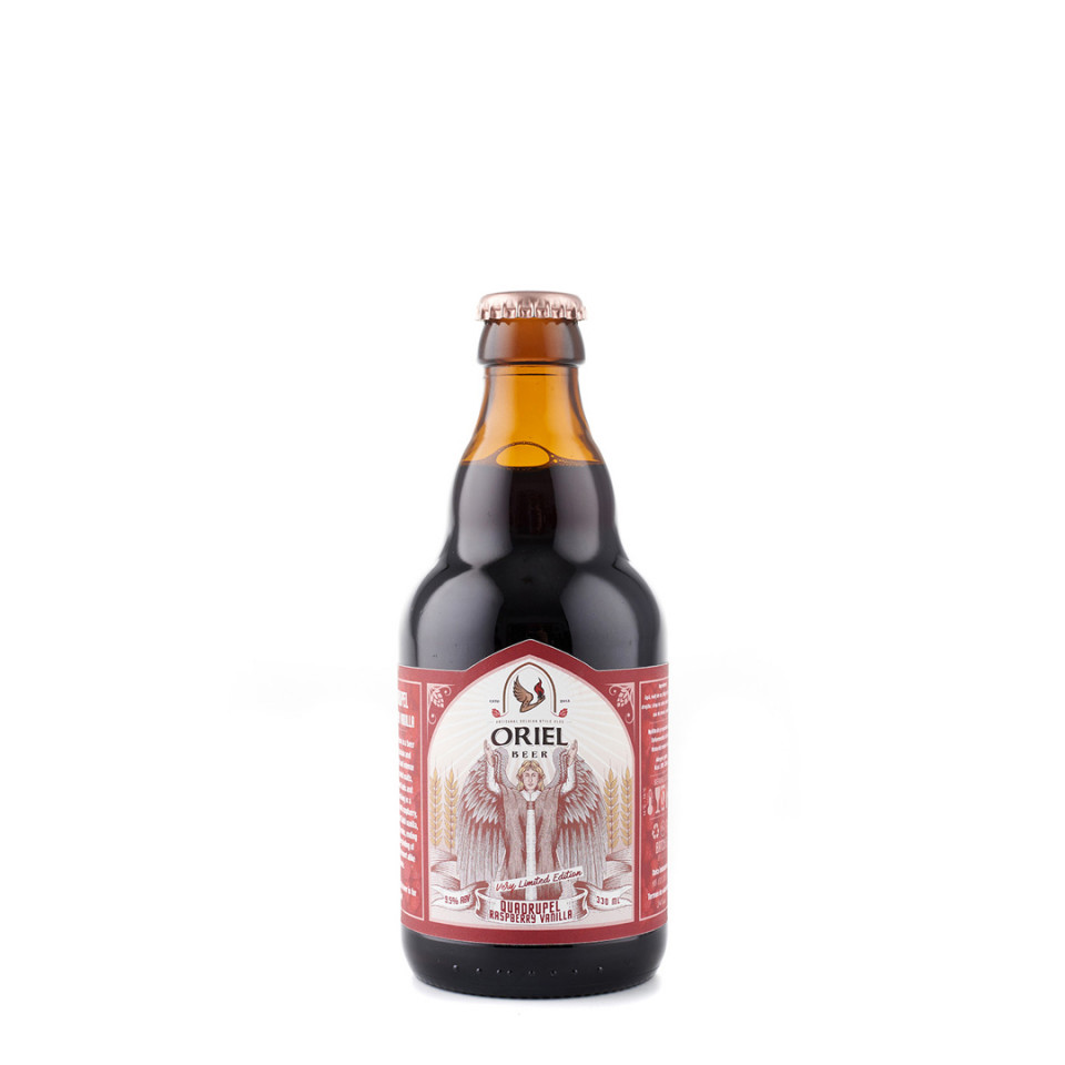 sticla Oriel Quadrupel (Raspberry Vanilla)