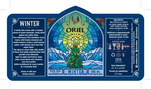 eticheta Oriel Winter (2019)