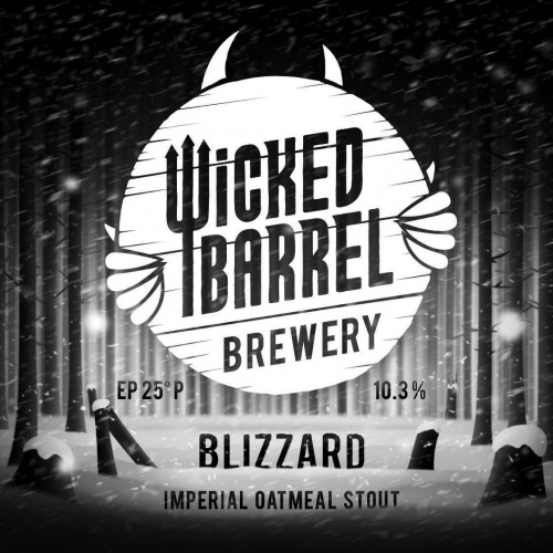 eticheta Wicked Barrel Blizzard