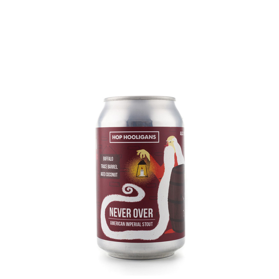 doza Hop Hooligans Never Over: Buffalo Trace BA Coconut
