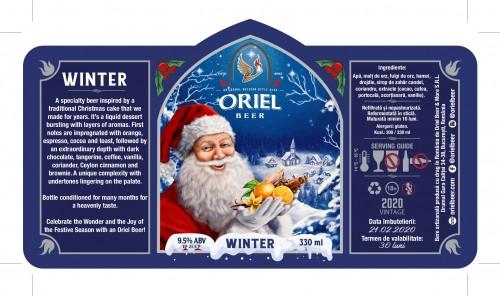 eticheta Oriel Winter (2020)