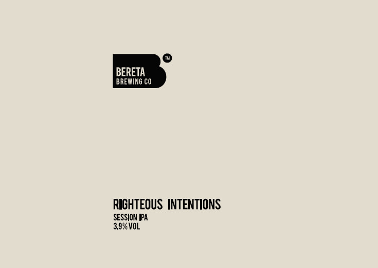 eticheta Righteous Intentions