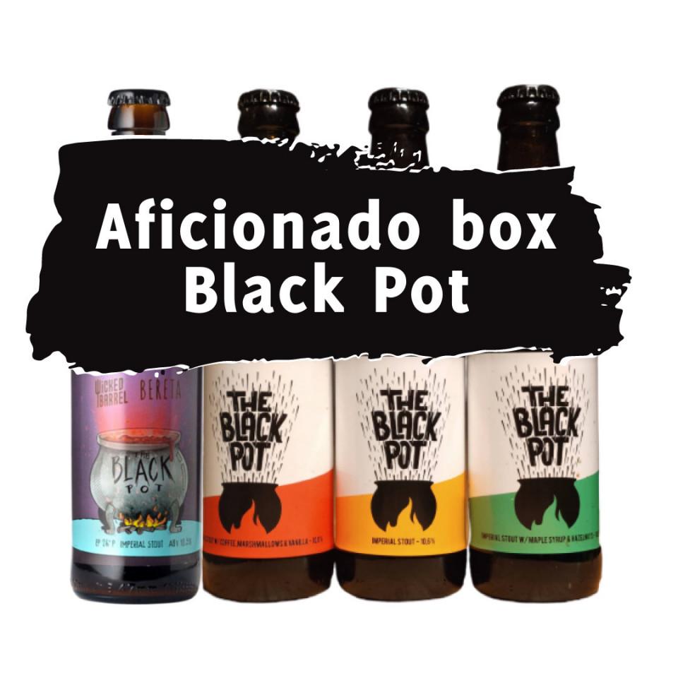 Aficionado Box Black Pot