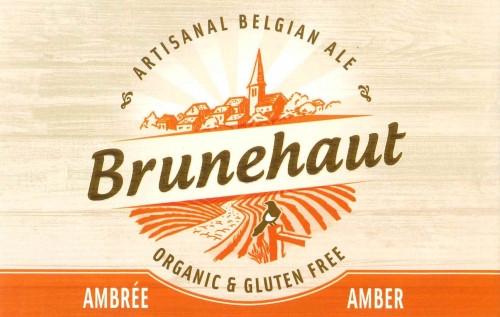 eticheta Brunehaut Ambrée Organic & Gluten Free