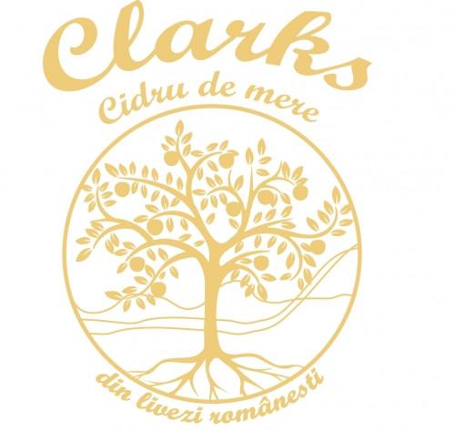 eticheta Clarks Cidru De Mere Sec