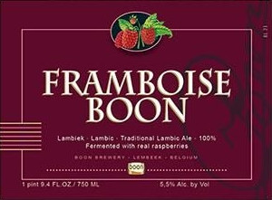 eticheta Framboise Boon
