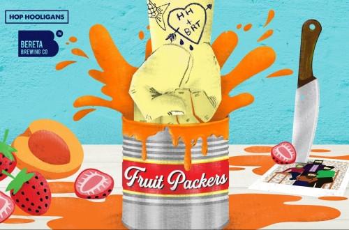 eticheta Hop Hooligans Fruit Packers
