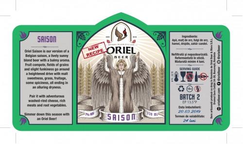 eticheta Oriel Saison