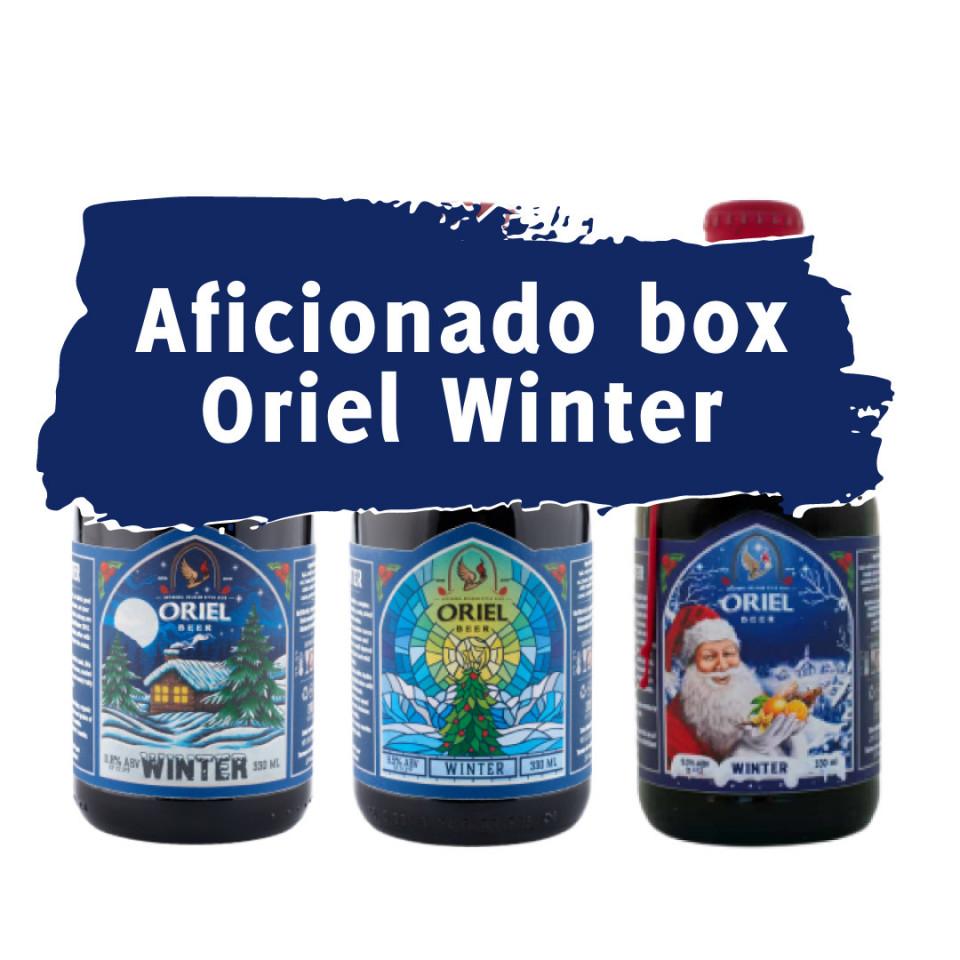cover Aficionado Box Oriel Winter