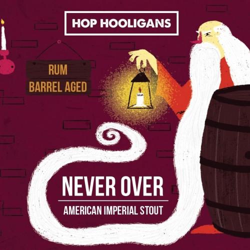 eticheta Hop Hooligans Never Over: Rum BA