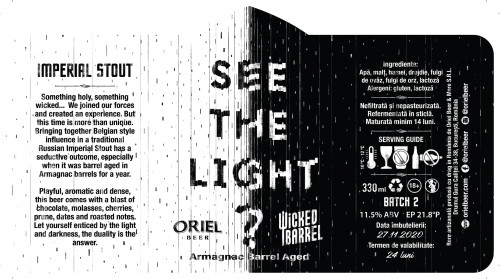 eticheta Oriel X Wicked Barrel See the Light ? #2 (Armagnac BA)