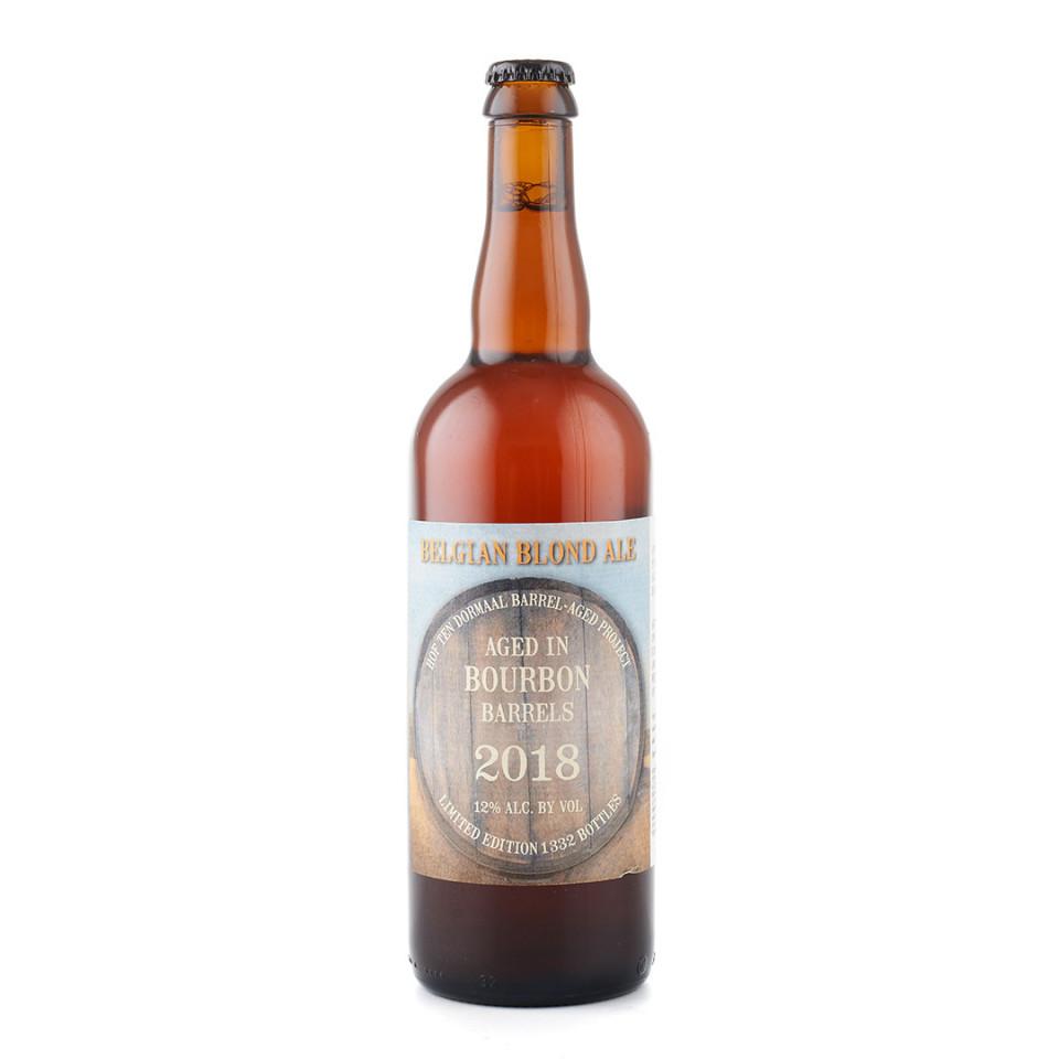 sticla Hof Ten Dormaal Barrel Aged Blonde - Bourbon (2018)