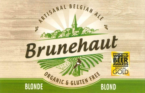 eticheta Brunehaut Blonde Organic & Gluten Free