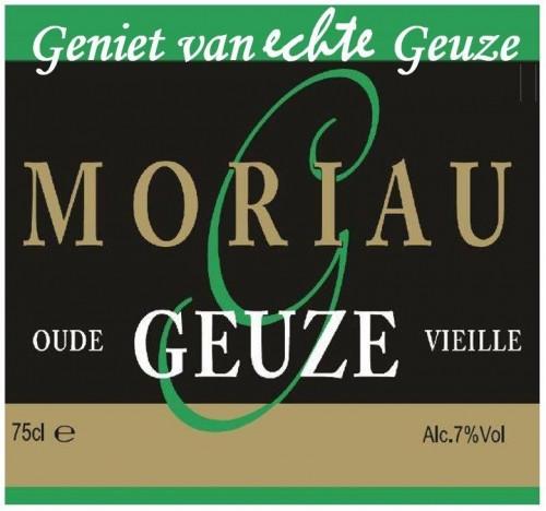 eticheta Moriau Oude Geuze Vieille