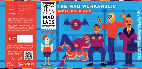 eticheta The Mad Workaholic IPA