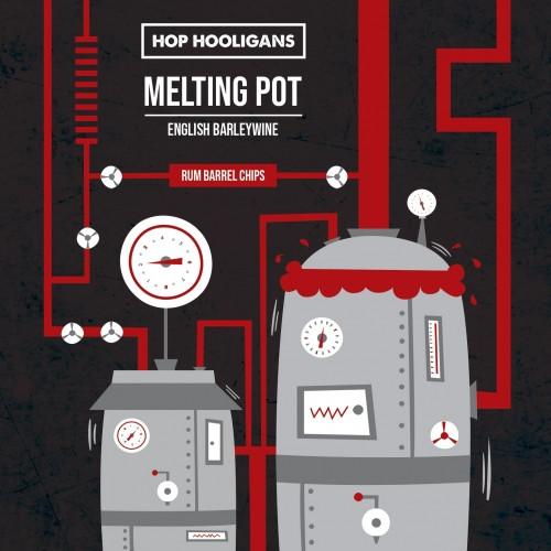 eticheta Melting Pot: Rum Barrel Chips