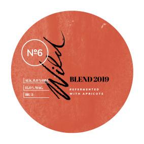 eticheta WILD6 Bière De Soif Refermented With Apricots Blend 2019