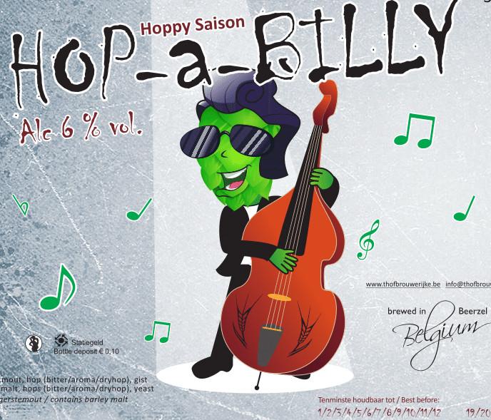 eticheta t hofbrouwerijke hop-a-billy