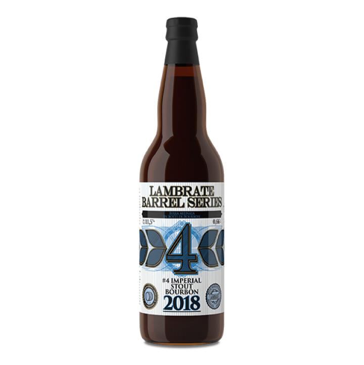 sticla Lambrate Barrel Series #4 IMPERIAL STOUT BOURBON 2018