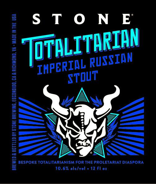eticheta Stone Totalitarian Imperial Russian Stout