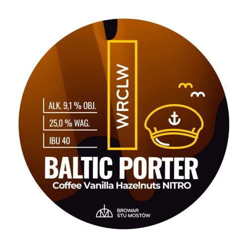 eticheta WRCLW Baltic Porter Coffee, Vanilla, Hazelnuts Nitro