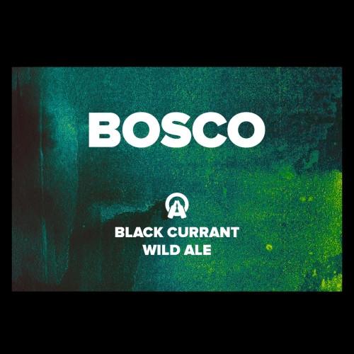 eticheta Bosco - Black currant wild ale