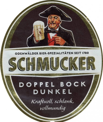 eticheta Schmucker Doppel Bock Dunkel