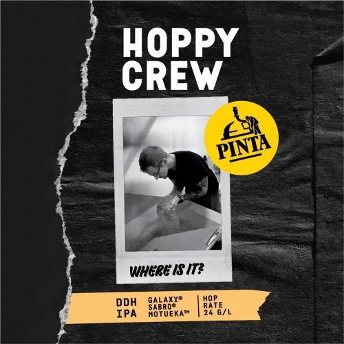 eticheta Hoppy Crew: Where Is It?
