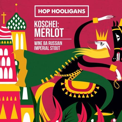 eticheta Koschei BA: Merlot