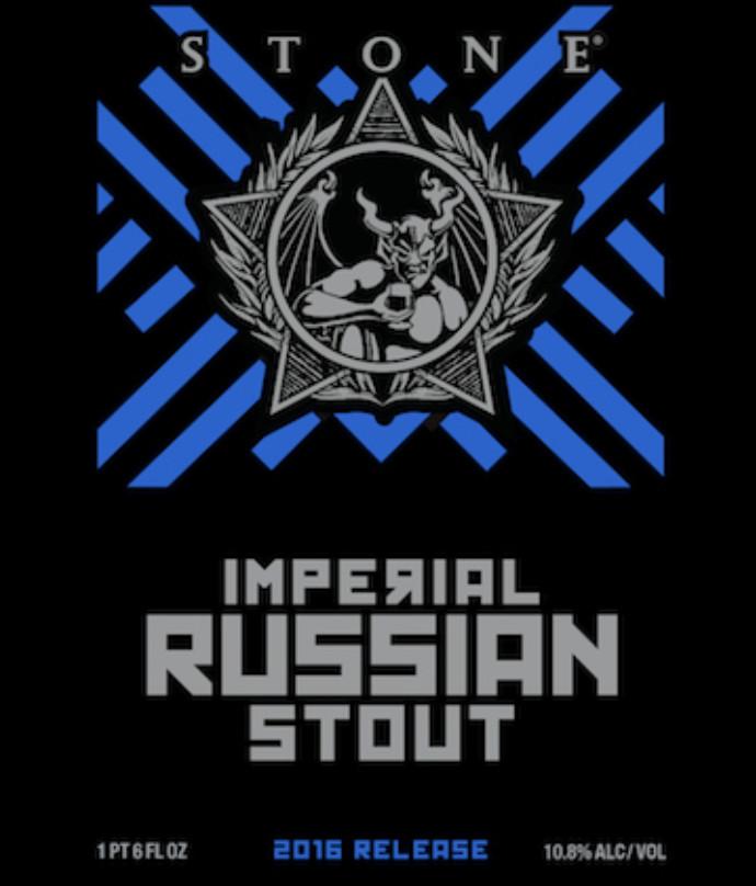 eticheta Stone Imperial Russian Stout