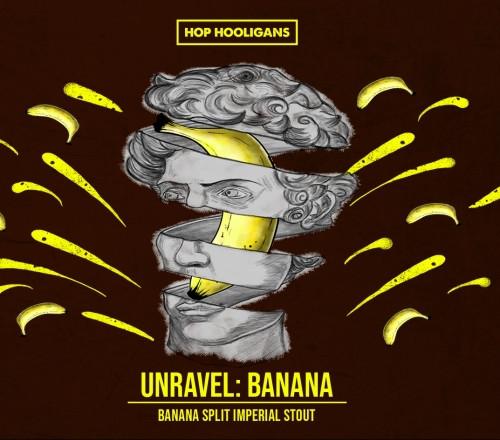 eticheta Hop Hooligans Unravel: Banana