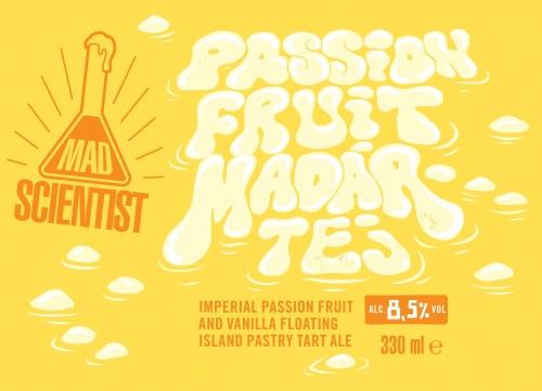 eticheta Passion Fruit Madártej